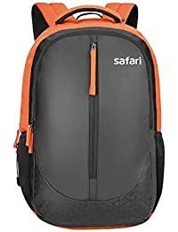 Safari 40 Ltrs Black Laptop Backpack (Zippy Black)