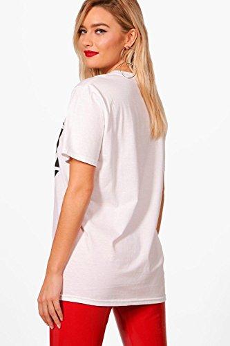 Noir Femmes T-Shirt sous licence Slim Shady Yas Noir