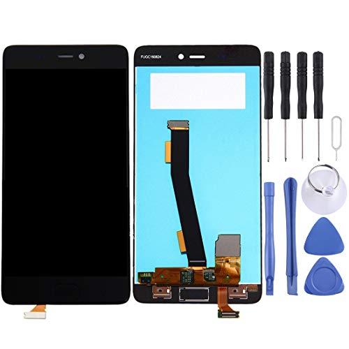 WWL Ersatzteile Für Xiaomi Mi 5s-LCD-Bildschirm und Digitizer Vollversammlung, Keine Fingerabdruck-Identifikation (Schwarz) (Farbe : Black)