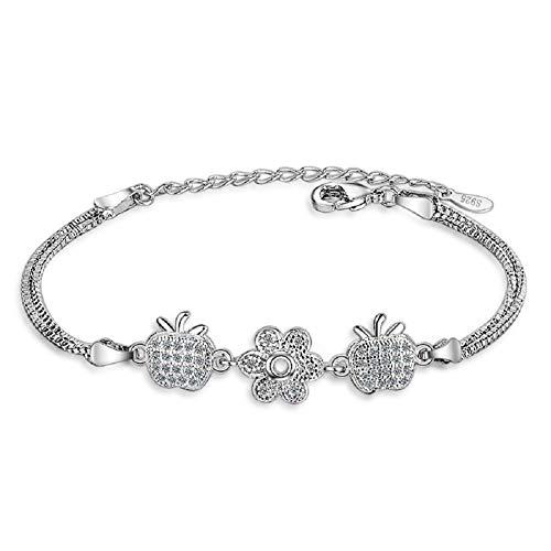 OUTANG Armband mädchen Damen Armband Freundin Armband Romantisches Armband Paar Armbänder Personalisiertes Armband Süßes Armband