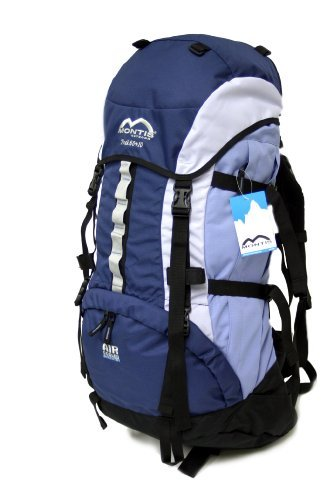 MONTIS TREK 60+10, Trekking Rucksack, 70L, 80x34, 2350g