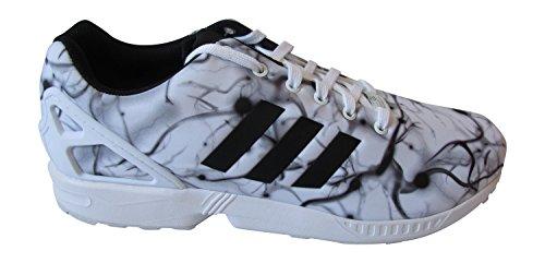 adidas Zx Flux, Baskets mode mixte adulte FTWWHT/CBLACK B24392