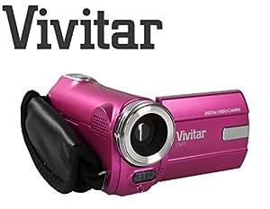 Kids Camcorder Ultra Compact Digital Camera Vivitar DVR908M 8 Megapixel Full HD 1080p Digital Camera 8MP (Pink)