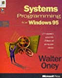 Systems Programming for Windows 95 (Microsoft Progamming Series)