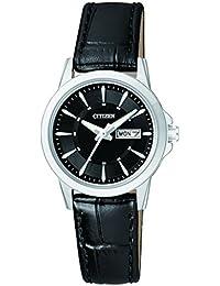 Citizen Damen-Armbanduhr Analog Quarz Leder EQ0601-03EE