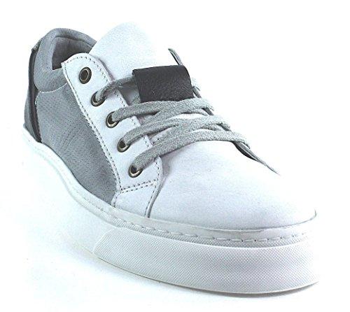 Mjus, Sneaker uomo Grigio grigio, Grigio (bianco), 46 eu