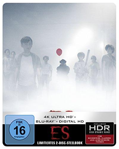 Ultra-king (Stephen King's Es (2017) Steelbook 4K Ultra HD + Blu-ray (exklusiv bei Amazon.de) [Blu-ray] [Limited Edition])