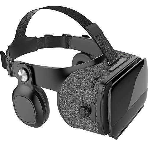 LOVEMLQL 3D-Vr-Brille, Virtual-Reality-Box, Virtual-Reality-KopfhöRer, 3D-Film-Videospiel-Vr-Headset, Kompatibel Mit Android Ios Und Anderen 4,5-Zoll-6,3-Zoll-Smartphones. (Vr-Brille)