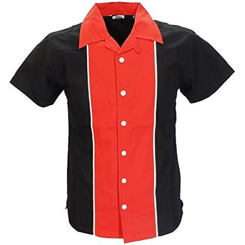 Relco -  Camicia Casual  - Basic - All'inglese  - Maniche corte  - Uomo