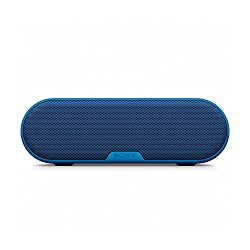 Sony SRS-XB2 Extra Bass Portable Wireless Speaker with Bluetooth and NFC (Blue)
