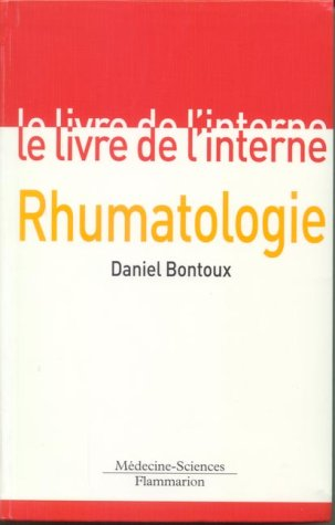 Le Livre de l'interne : Rhumatologie