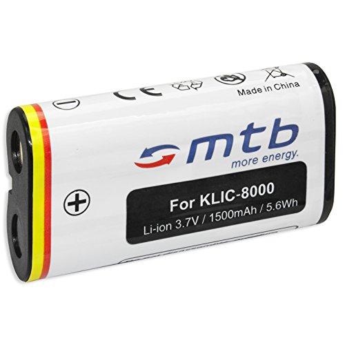 Ersatz-Akku Klic-8000 für Kodak Easyshare Z612, Z712 IS, Z812 IS, Z1012 IS... (siehe Liste) (Akku Für Kodak Easyshare Z612)
