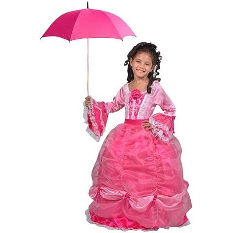 César - Disfraz para niña princesa, talla 5 - 7 años (F322-002)