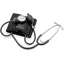 Tensiómetro aneroide con Fonendo AARON® | brazalete ajustable. Kit profesional para la medición de