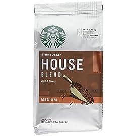 Starbucks House Blend Ground Coffee 200 g (Pack of 6)