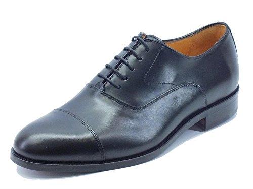 Mercanti Fiorentini 06649 Nairobi Nero - Zapatos de cordones de Piel para  hombre Negro Size: