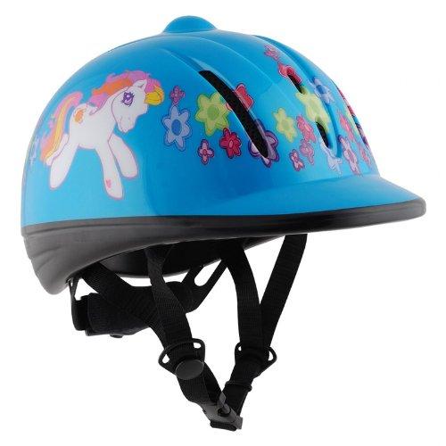 b22724e1b1fd2 Horka Childrens Kids Pony Horse Riding Showing Competition Cartoon Design Skull  Cap Helmet ...