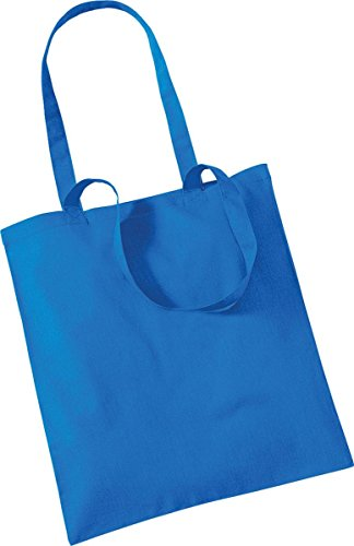 Westford Mill Shopper Handtasche Aufbewahrung Reisetasche Promo Schulter Tasche One Size Blau - Saphirblau