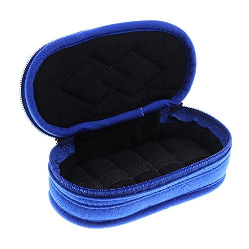 MagiDeal Sac de Stockage Sac de Rangement Organisateur Portable avec 15 Compartiments pour Bouteilles d'Huile Essentielle 15ml - Idéal pour Voyage