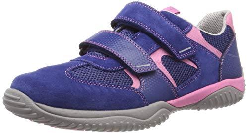Superfit Mädchen Storm Sneaker, (Blau/Rosa 83), 26 EU (Sneaker Rosa Kinder)