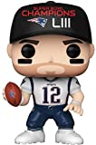 Funko 44656 POP NFL: Patriots-Tom Brady (SB Champions LIII) Sammelbares Spielzeug, Mehrfarben