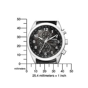 41RPL67wvzL. SS300  - Citizen-Promaster-Sky-AS4025-08E-Reloj-crongrafo-de-cuarzo-para-hombre-correa-de-cuero-color-negro