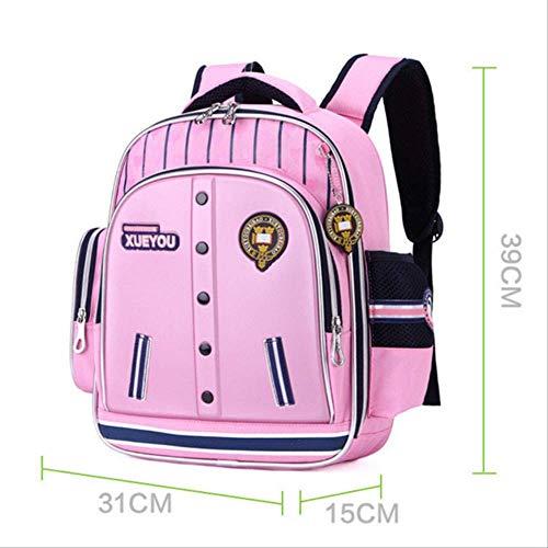 Xjwq zaino scuola 2019 bambini borse scuola per ragazze impermeabile cartone cartone stampa backpacki bambini borsa libro satchel knapsack mochila escolar rosa rosso
