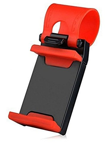 VOLTAC 54-76mm Car Steering Wheel Mobile Holder(Multicolour, Model 445237) 41RPLIg4EfL