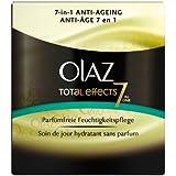 Olaz - Total Effects - Crème de jour soin anti-âge - Sans parfum Pot 50 ml