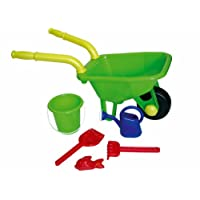 Peterkin UK Ltd - Wheelbarrow, Bucket, Pallet and Watering Can Set, Assorted Models / Colors, 1 Piece