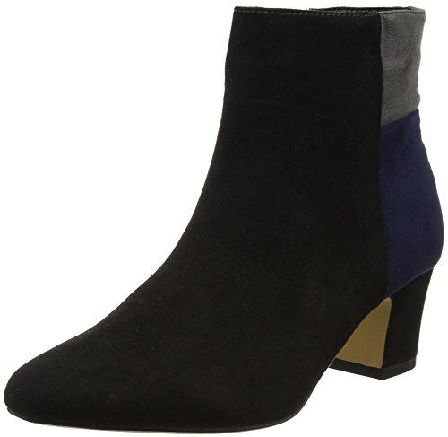 Lotus Women's Clara Boots, Black (Black Multi Micro), 8 UK 41 EU