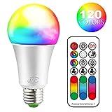 iLC Ampoule Led E27 RGBChangement deCouleur,Ampoules LedDimmable...