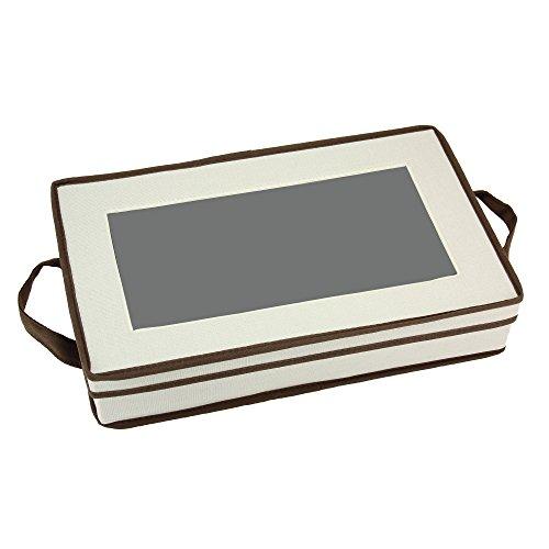 Haushalt Essentials Besteck Aufbewahrung Brust mit separatem anrichtgabel Tasche für (China-speicher-brust)