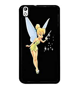 PrintDhaba Angel D-1975 Back Case Cover for HTC DESIRE 816 (Multi-Coloured)