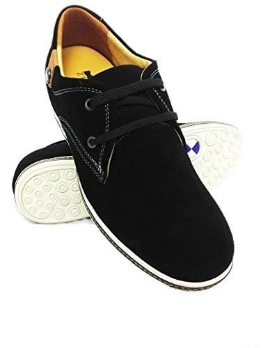 Zerimar Zapatos Deportivos con Alzas Para Hombre de Estilo Casual 7 cm