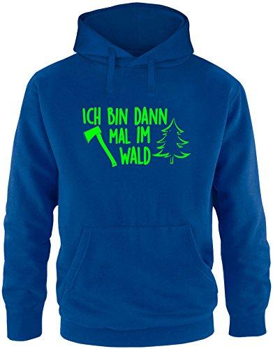 EZYshirt® Ich bin dann mal im Wald Herren Hoodie (John Deere Für Männer Sweatshirts)