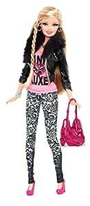 Barbie style doll damask amazon co uk toys amp games