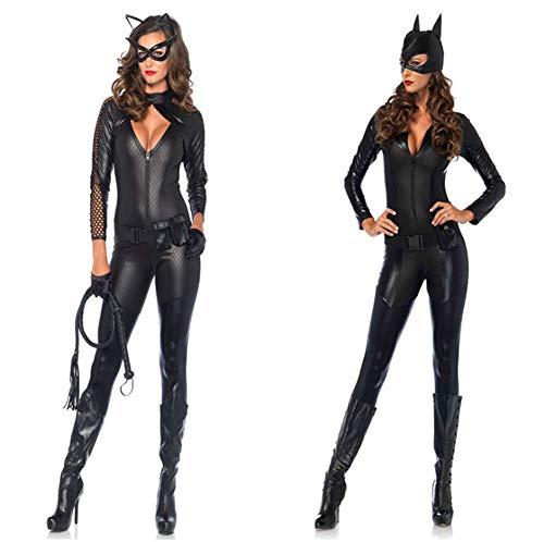 HAOBAO Halloween sexy sexy Bodysuits Lackleder bühnenkleid europäische und amerikanische Bars ds Coole kostüme