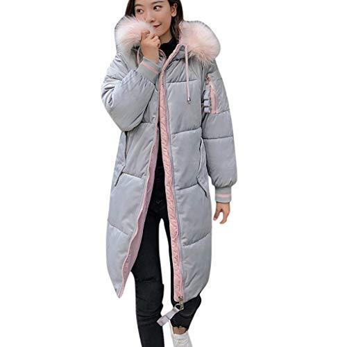 Kostüm Creed 4 Günstige Assassin's - WRWYOSF Damen Mittellange Baumwolljacke Winterjacke Jacke für Herbst und Winter mit Kapuze Daunenjacke
