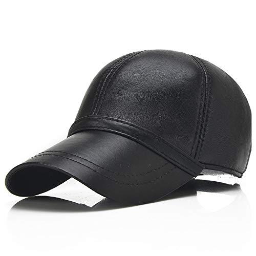 JIALUN-Hat Frühling und Herbst Neue koreanische Version des High-End-Männer Schaffell leichte Board Baseball Cap lässig einkaufen Hut einfachen Hut Mode und Persönlichkeit
