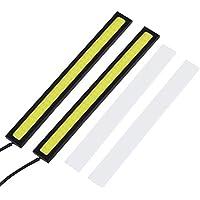 Footprintse 1 Par 8 W 14 cm COB LED Coche DRL Luz de Niebla de conducción Diurna Lámpara de La Barra 6 Estilos para el Color de elección: Concha Negra