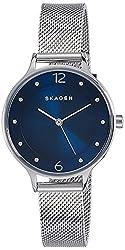 Skagen Anita Analog Blue Dial Womens Watch - SKW2307I