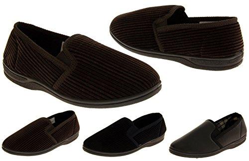 Footwear Studio Élastiquée Gousset Comfort Pantoufles Hommes