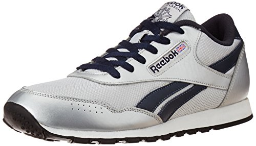 Reebok Classics Men's Classic Proton LP Silver and Blue Sneakers – 6 UK 41RPQ852EEL