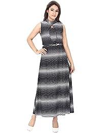 FRANCLO Women's Gown dress (Best fit 30-32 bust)