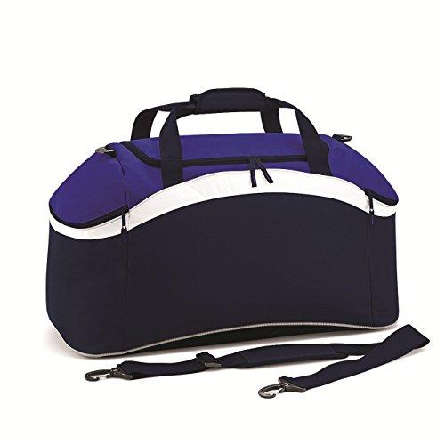 BagBase Teamwear Holdall 1er Pack French Navy/Bright Royal/White
