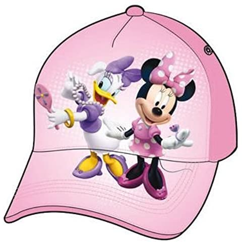 Disney Mickey Mouse - Gorra Imprimida - Minnie/Daisy Rosa tamaño 50/52