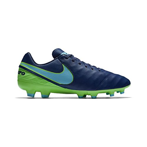 Nike 819236-443, Chaussures de Football Homme Bleu