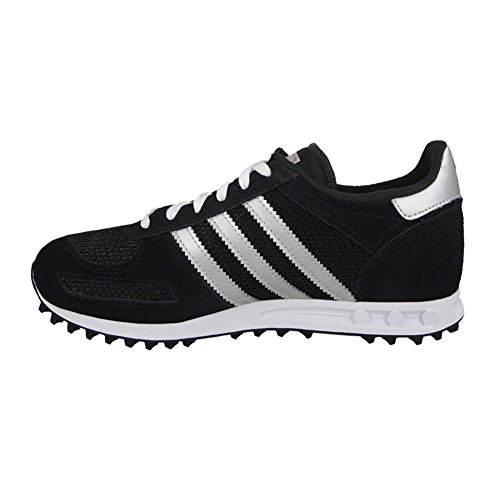 Chaussures LA Trainer Black/Silver Jr - adidas Originals Noir