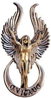 Angelus - Für Wunder - Briar Engel und Feen Anhänger Sammlung - Hergestellt aus nickel- und bleifreiem Hartzinn (Pewter), mit 925er Sterling Silber und 18karätigem Gold verziert - Geschenkbox (Engel Sammlung)